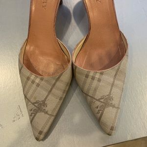 Women's Burberry heels
